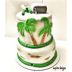 Every ending has a new beginning... #goodbyeparty #judyandraymond #belize #tropical #palmtrees #cake #customcake #tiercake #weddings #events #corporate #socialevents #babyshower #bridalshower #anniversary #cakeboss #cakeblog #instablog #toronto #scarborough #blog #etsy #etsyseller #etsysellersofinstagram #mpiredesigns