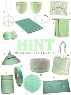 Great Mint Gifts..  mint makes me feel good?