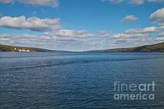 Seneca Lake from Watkins Glen by William Norton