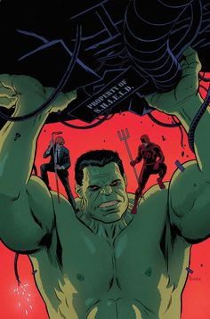 It's a Process: Indestructible Hulk #9 by Paolo Rivera — GeekDraw