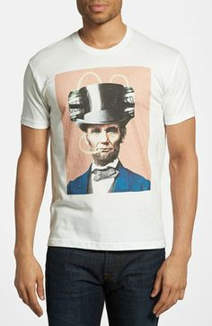 Kid Dangerous 'Beer Lincoln' T-Shirt available at #Nordstrom