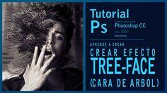 Tutorial Photoshop cc2015 efecto TreeFace by @ildefonsosegura