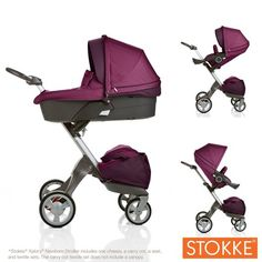 STOKKE stroller! For the soon-to-be moms out there...