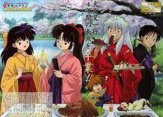 Inuyasha And Sesshomaru, Inuyasha Fan Art, Kagome And Inuyasha, Otaku Anime, Manga Anime, Yume, Miroku, Animated Icons, Anime Love