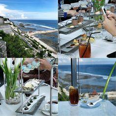#Bali #Ungasan > Cliff Edge Afternoon Tea at @Jumana_bali @BanyanTreeBali