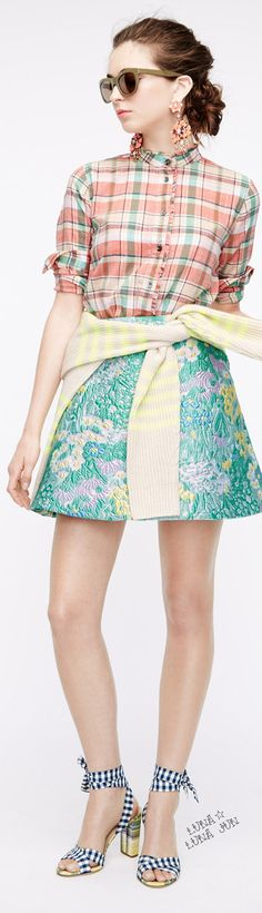 J.Crew Spring 2016 | House of Beccaria~