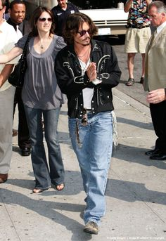 """Image detail for -Johnny Depp Visits """"Late Show with David Letterman"""" - July 27, 2006"""