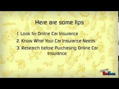 Online Car Insurance-How you can Buy Online for Car Insurance