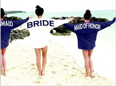 A personal favorite from my Etsy shop https://www.etsy.com/listing/218148739/bridal-jersey-sale-bridesmaids-gift