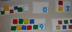 FREE math centers printables with materials you probably already have in the classroom