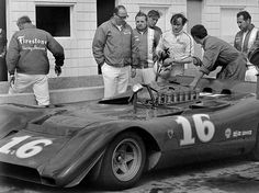 Chris Amon Ferrari 612P for the Can Am series in 1969 The best finish was 12th (Image by John Denniston)