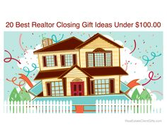 Best Realtor Closing Gift Ideas Under $100.00 - We have gathered together 35 of our favorite broker housewarming thank you gifts that will be sure to impress and delight your real estate clients. There are treats for individuals, couples, and the whole family! All the gifts have been hand selected to reflect high quality products with lovely presentation.