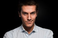 Sebastiano Bottari - italian actor - portrait by Paolo Corradeghini