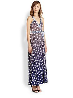 Diane von Furstenberg Samson Jersey Maxi Dress  Beautiful dress, but gapes in the chest area if you have a broad back.