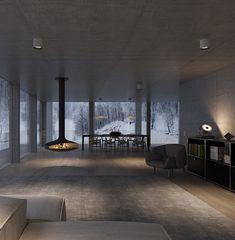 Architektur EFH #architektur #EFH #schweiz #Switzerland #aargau #Einfamilienhaus #Architekturbüro #Studiodati #Innenarchitektur #Beton #Holz #modern #zeitlos Green Nature, Studio, Conference Room, Modern, Table, Furniture, Beautiful, Home Decor, Ideas