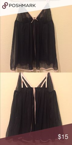 VS Lacy Babydoll Lingerie Slip Never worn. Does not include matching underwear. Sexy and cute. ✨WILLING TO BUNDLE OR TRADE✨ Victoria's Secret Intimates & Sleepwear Chemises & Slips
