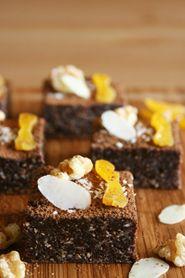 Recipe - Raw Chocolate Walnut Brownies on www.cravegoldcoast.com.au/recipes/recipe101.html