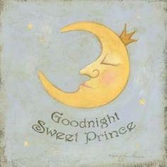 Posterazzi Goodnight Sweet Prince Canvas Art - Stephanie Marrott (24 x 24)