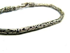Oxidized Sterling Silver Link Bracelet No. 1 offered by Sacred Urban. $60.00. oxidized,sterling silver