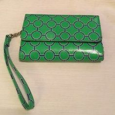 """I just discovered this while shopping on Poshmark: Cute  Cell Phone Wristlet. Check it out! Price: $10 Size: W 5.75"""" X H 4"""""""