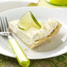 Macadamia Key Lime Pie Recipe from Taste of Home -- shared by Brynn LeMaire, Gueydan, Louisiana
