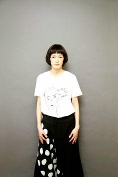 甲田益也子による甲田益也子情報 Japanese Models, Sexy, Muse, What To Wear, Ballet Skirt, Inspired, Portrait, Skirts, Hair