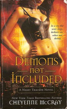 Demons Not Included by Cheyenne McCray is the first Night Tracker urban fantasy book, about a half human, half Drow law enforcer and PI. #UrbanFantasy
