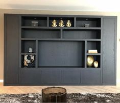 Nilo Interior added a new photo. Living Room Tv, Home And Living, Snug Room, Living Furniture, Home Office Design, Built Ins, Living Room Designs, Luxury Homes, New Homes