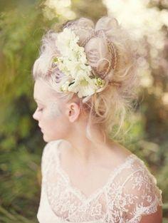 Coiffure mariage , Wedding hair style  http://www.pinterest.com/adisavoiaditrev/