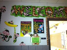 Adventures in Teaching Preschool Jungle, Preschool Themes, Jungle Theme Classroom, Classroom Themes, Safari Crafts, Welcome To The Jungle, Safari Theme, Goodie Bags, First Day Of School