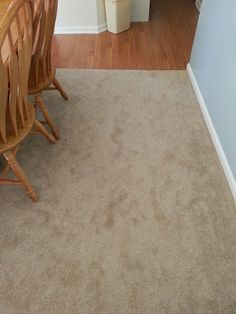 A Coordinating Carpet With Slight Contrast To The Wood Look Laminate Create Seamless Transition From