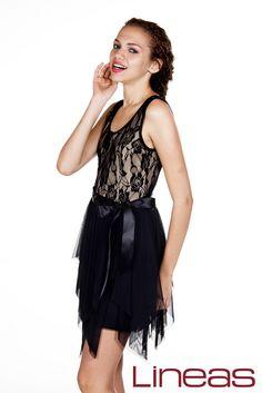 Vestido, Modelo 1552. Precio $350 MXN #Lineas #outfit #moda #tendencias #2014 #ropa #prendas #estilo #primavera #vestido