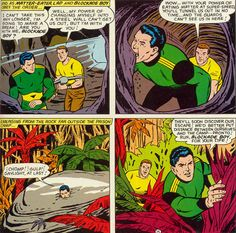 Matter-Eater Lad.  Yep, honest to God superhero created in all seriousness.