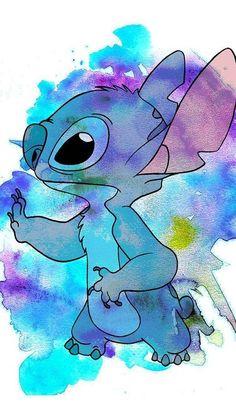 Disney Stitch, Lilo Y Stitch, Cute Stitch, Disney Phone Wallpaper, Wallpaper Iphone Cute, Cartoon Wallpaper, Cute Wallpapers, Iphone Wallpapers, Vintage Wallpaper