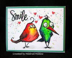 Crazy Bird Anniversary   by Mildred Mildew