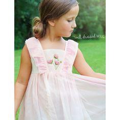 Pink Hydrangea Dress © | Well Dressed Wolf 4t