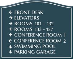 D13128 Directional Signs Church Signage Pinterest