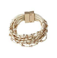 Relativity® Multi Ivory Cord Bracelet
