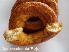 Unas rosquillas muy ricas, ideales para un café con los amigos, aunque puedan parecer que quedan con textura dura no son así, salen ...