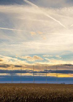 Michigan Windmills Wind Farm Photography by Arkonacreekcreations