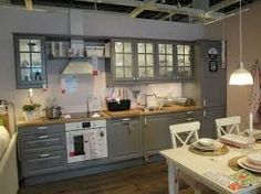 Картинки по запросу ikea серая кухня