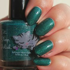 EAT SLEEP POLISH - Glowing Green Gates (The Wonderful Wizard Of Oz Collection)