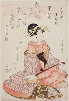 Masachi of the Tsuruya 1805 Artist Kitagawa Utamaro I, Japanese, (?)–1806