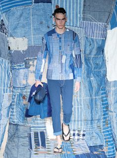 Junya Watanabe menswear s/s 2015
