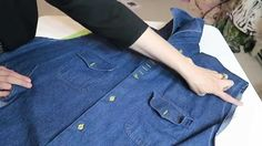 Altering a mens shirt to be a smaller size or to fit a women