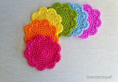 Posavasos de Crochet