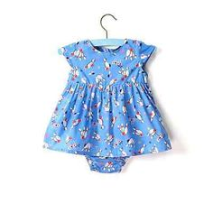 Lindy bop 'baby lindyset' blue #bowling dress with #knickers #12-18 months,  View more on the LINK: http://www.zeppy.io/product/gb/2/162076367687/
