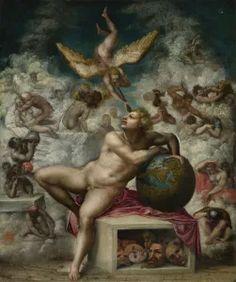 Dream argument - SetThings Miguel Angel, Michelangelo Paintings, Modern Philosophy, Renaissance Kunst, Painting Videos, Art Model, Beauty Art, Collage Art, Art Drawings