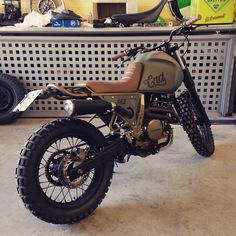 Honda NX650 by Cafe Racer Dreams