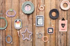 Tutorials crocheted picture frames by Dutch bloggers made for a special edition 101woonideeën about crochet #101haakspecial